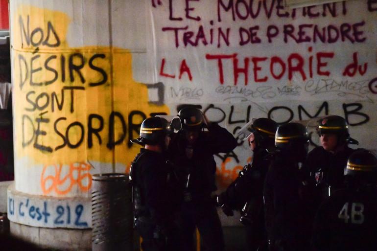 Le blocage du site universitaire parisien de Tolbiac a été levé au petit matin, le 20 avril 2018