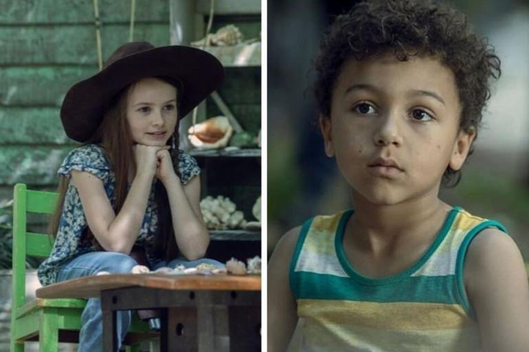"""Judith et Rick Junior dans la saison 10 de """"The Walking Dead"""""""