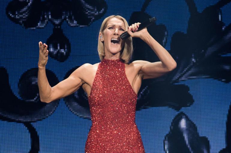 Céline Dion en concert au Videotron Centre de Québec
