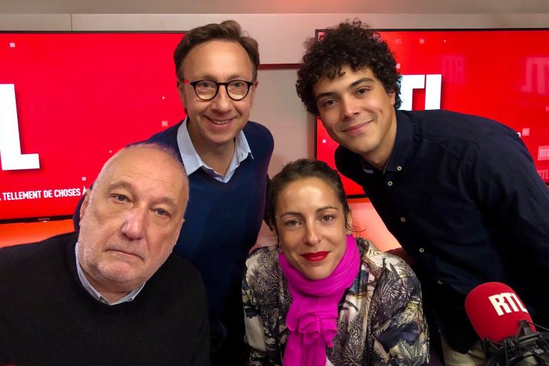 François Berléand, Stéphane Bern, Audrey Dana et Michael Lumière