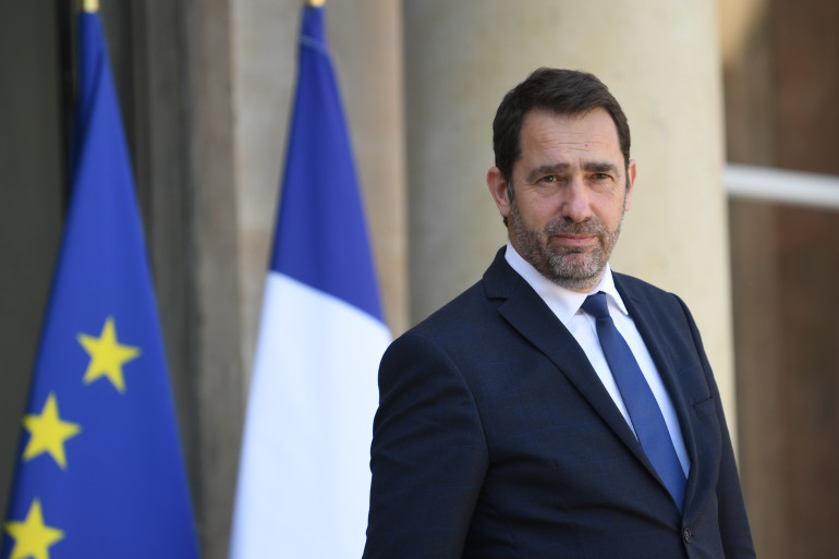 Christophe Castaner, le 20 avril 2018