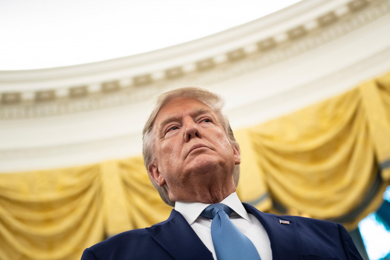 Donald Trump, le 8 octobre 2019