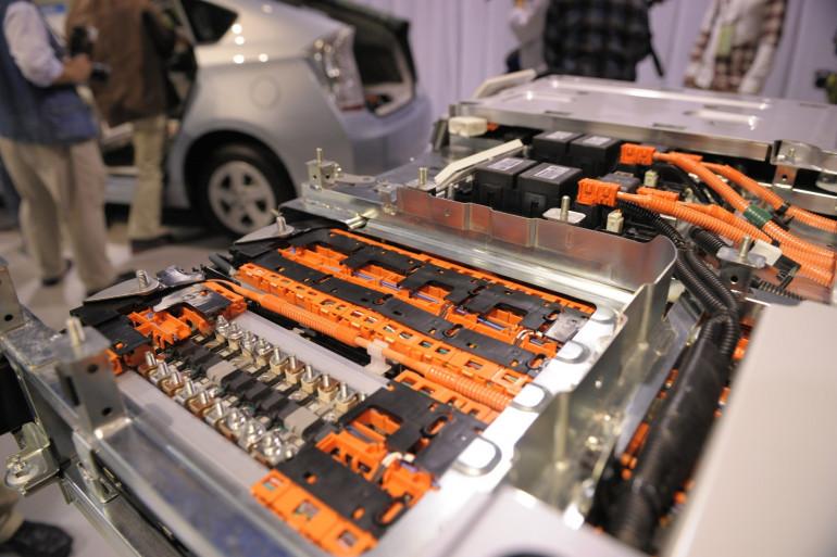 Échantillon d'une batterie au lithium-ion (illustration)