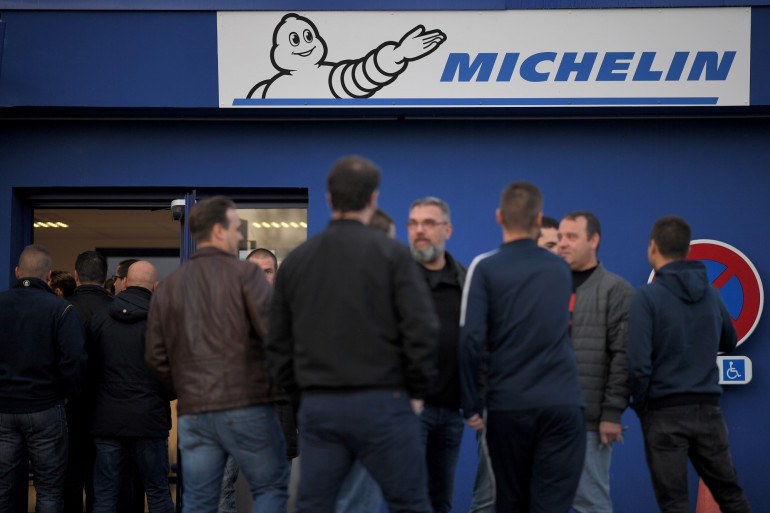 Les salariés de l'usine Michelin de La Roche-sur-Yon attendent plus d'information