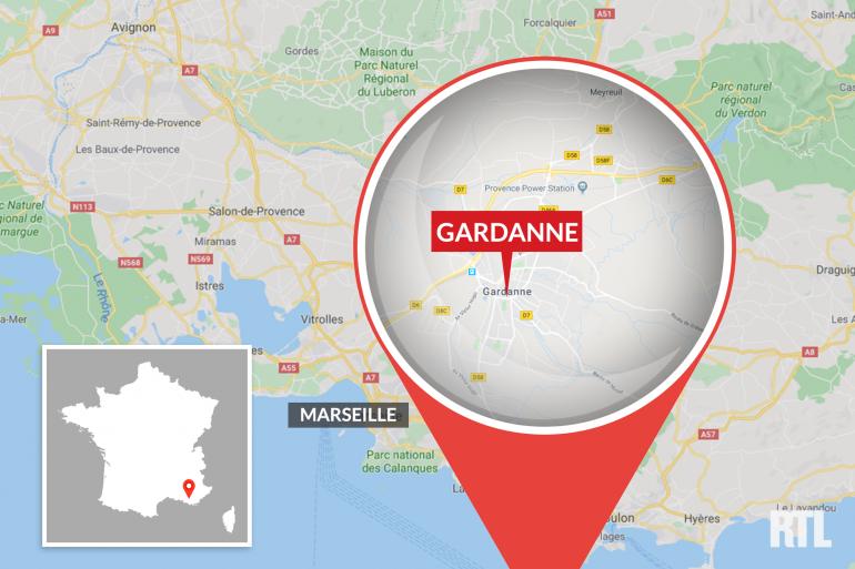 Carte de Gardanne
