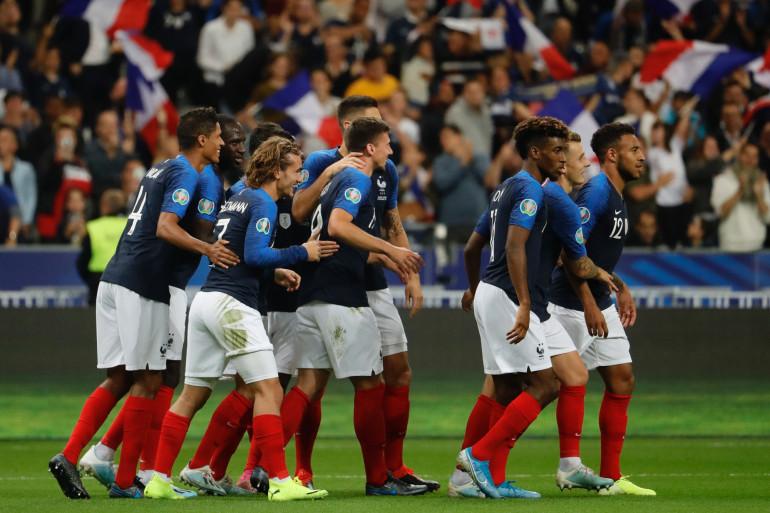 Les Bleus au Stade de France contre Andorre le 10 septembre 2019 (illustration)