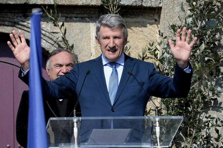 Philippe de Villiers au Puy du Fou le 20 mars 2016