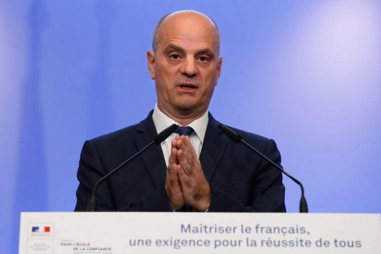 Le ministre de l'Éducation nationale Jean-Michel Blanquer, le 5 décembre 2017