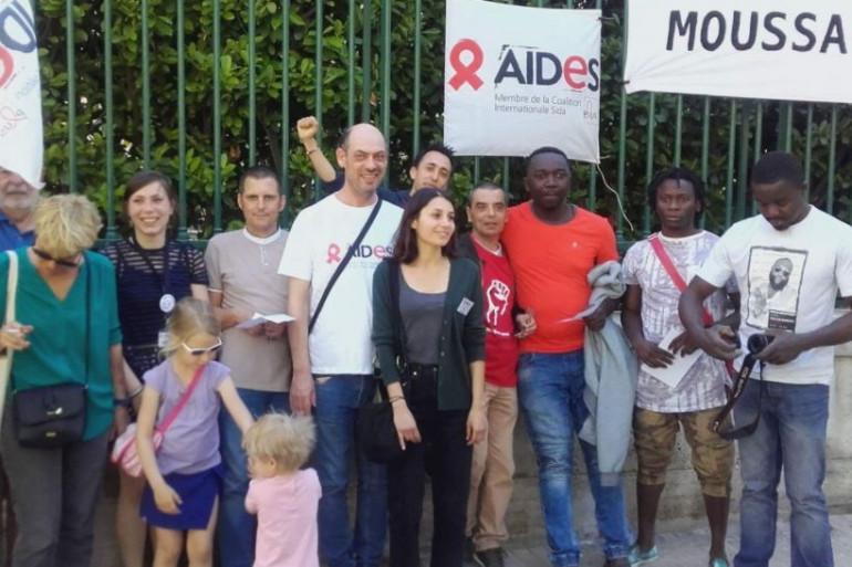 Homosexuel âgé de 28 ans, Moussa avait décidé de quitter son pays d'origine, après avoir vu son compagnon être brûlé sous ses yeux.