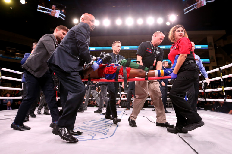 Patrick Day avait quitté le ring sur civière le 12 octobre 2019