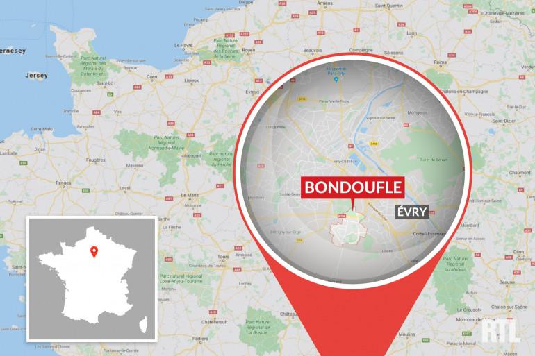 La ville de Bondoufle, située dans le département de l'Essonne.