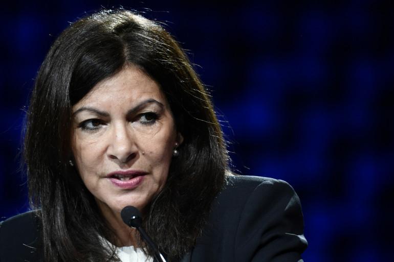 La maire de Paris, Anne Hidalgo, le 12 décembre 2017