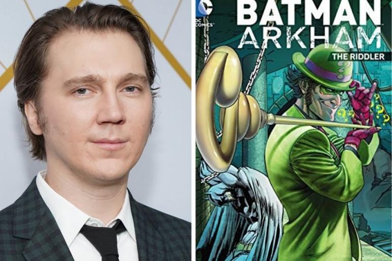 Paul Dano se glissera dans le costume vert de L'Homme-mystère