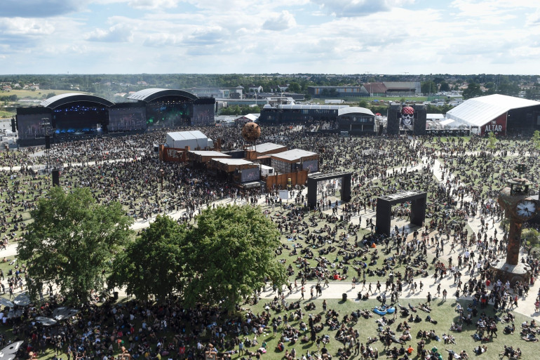 La 14e édition du festival Hellfest, à Clisson (44)