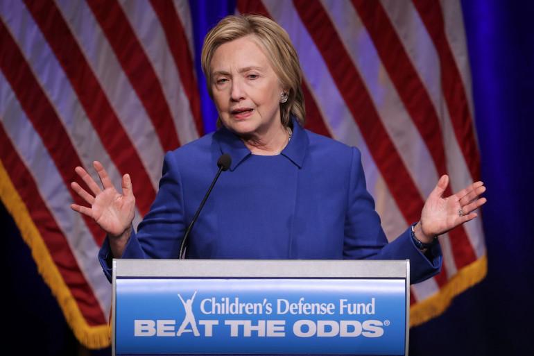Hillary Clinton, le 16 novembre 2016