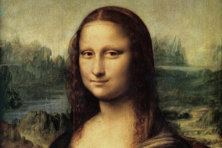 """""""La Joconde"""" de Léonard de Vinci exposée au musée du Louvre à Paris"""
