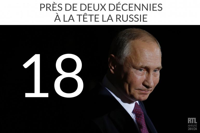 Vladimir Poutine débute son quatrième mandat à la tête de la Russie