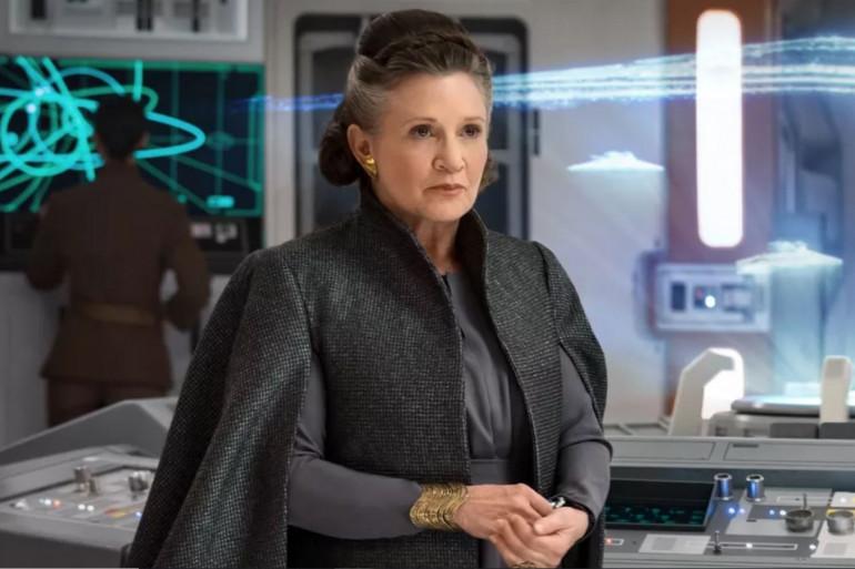 """Leia Organa dans """"Star Wars 8"""""""