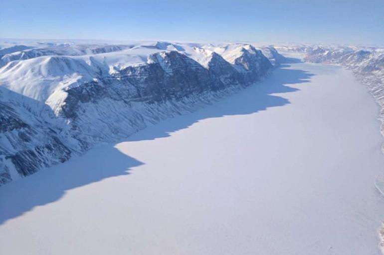 Une vue de l'Arctique (Illustration)