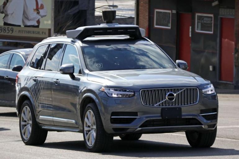 Une voiture autonome Uber dans les rues de Pittsburgh, en mars 2017 (illustration)