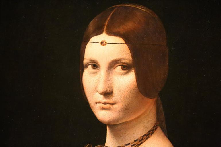 La Belle Ferronnière (Exposition Léonard De Vinci)