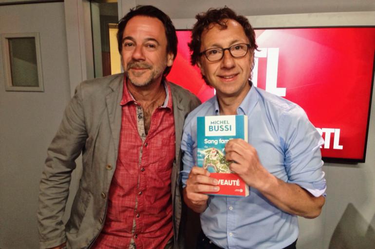Michel Bussi et Stéphane Bern