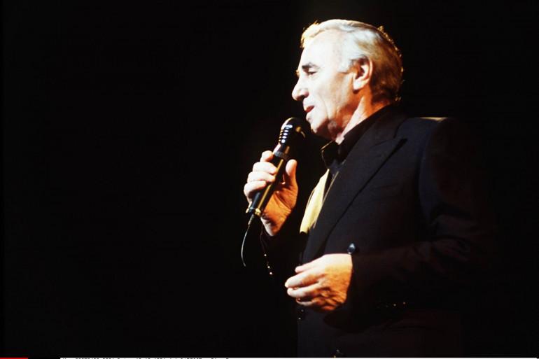 Charles Aznavour au Palais des Congrès, le 19 octobre 1994