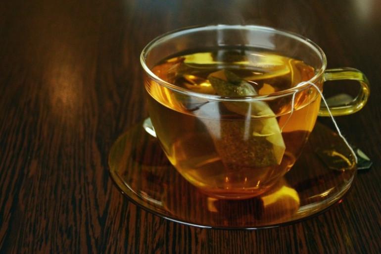 Une tasse de thé (illustration)
