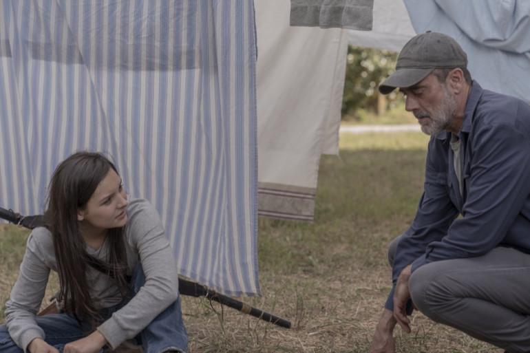 """Lydia et Negan dans la saison 10 de """"The Walking Dead"""""""