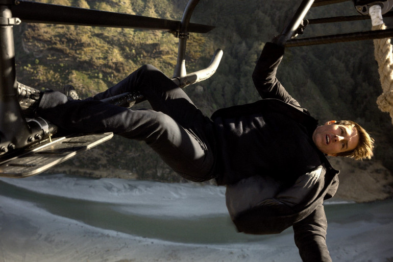 """Tom Cruise dans """"Mission: Impossible - Fallout"""""""