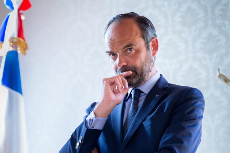 Édouard Philippe le 2 mai 2018 à Bourges