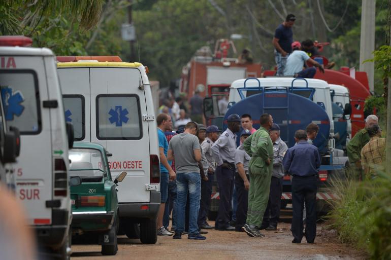 Les équipes médicales sont rapidement intervenues sur les lieux du crash meurtrier.