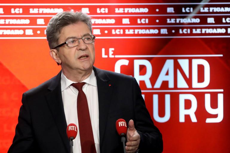 """Jean-Luc Mélenchon est l'invité du """"Grand Jury"""" le 20 mai 2018"""