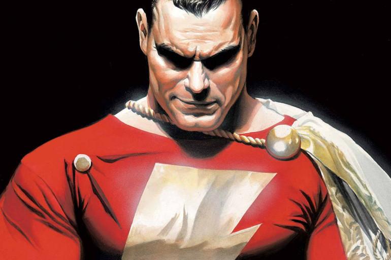 Le super-héros Shazam fait partie de l'écurie DC Comics