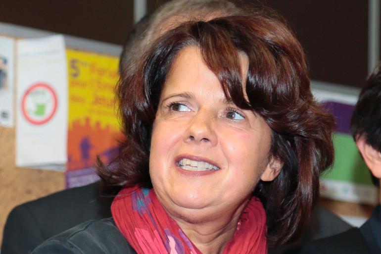 Sylvine Thomassin, maire de Bondy en Seine-Saint-Denis