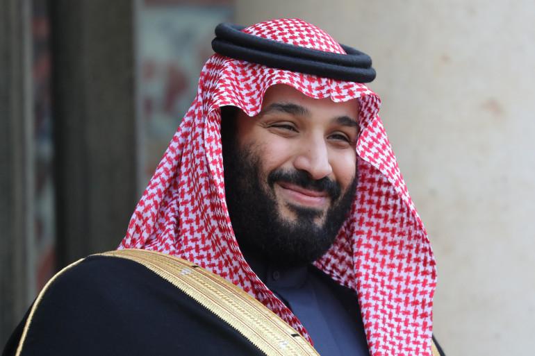 Le prince héritier d'Arabie Saoudite Mohammed ben Salmane en avril 2018 à l'Élysée