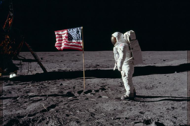 Neil Armstrong, le premier homme a avoir marché sur la Lune en juillet 1969