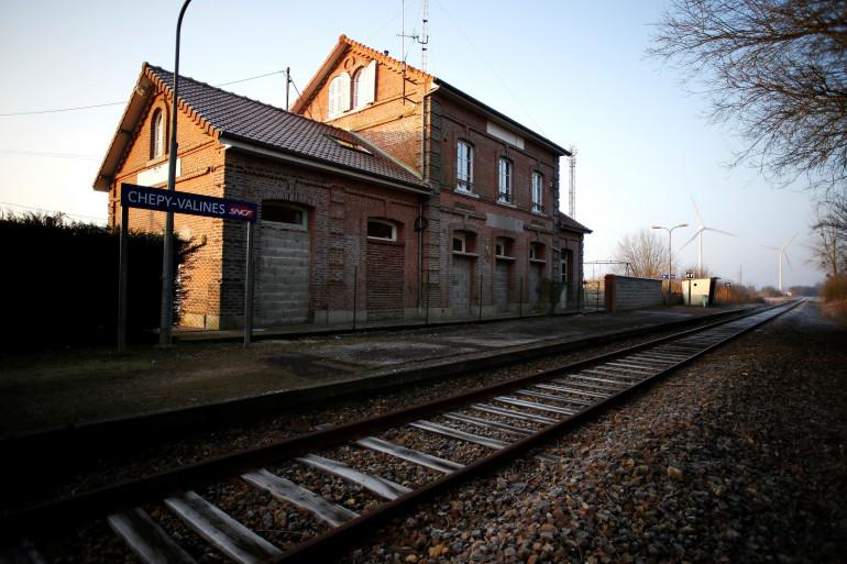 La gare de Chépy, sur la ligne Abbeville - Le Tréport, qui ferme lundi 28 mai