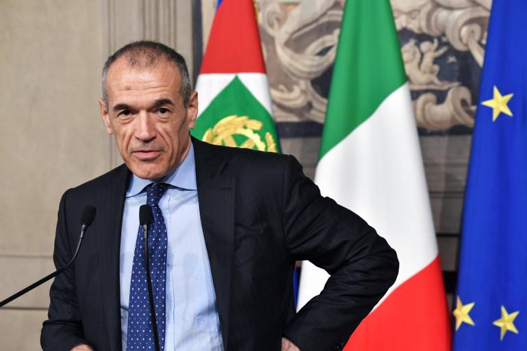 Carlo Cottarelli, incarnation de l'austérité budgétaire, est chargé de former le gouvernement italien