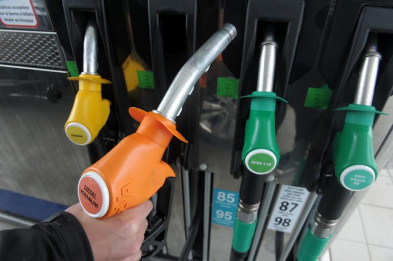 Une pompe à essence (illustration).