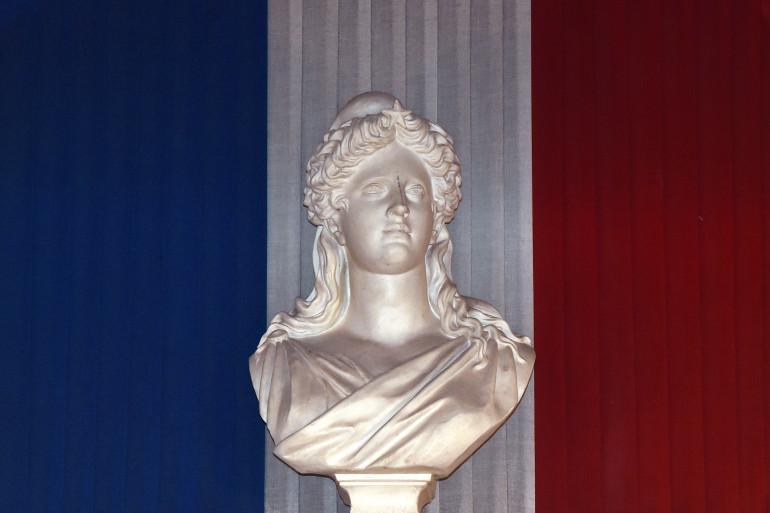 Un buste de Marianne à Toulouse, le 4 avril 2014 (Illustration)