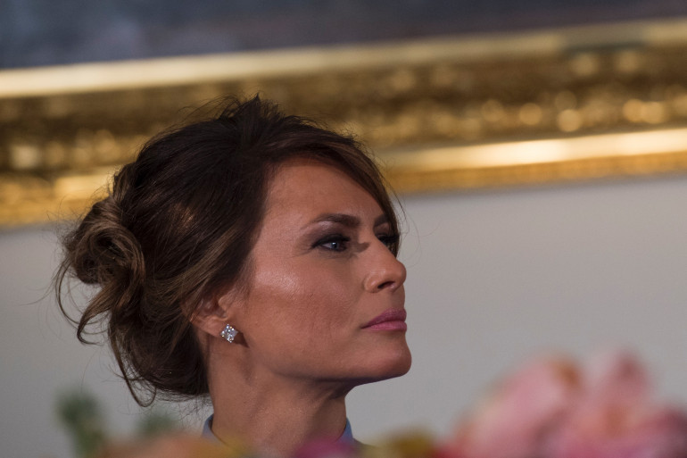 Melania Trump, le 20 janvier 2017