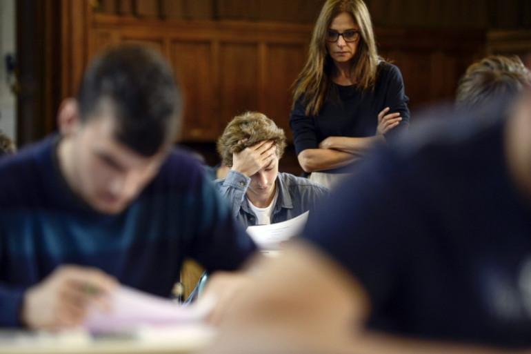 Des lycéens passent l'épreuve de baccalauréat, le 16 juin 2014 (photo d'illustration)