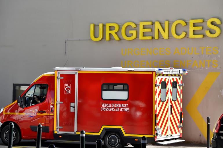 Un véhicule des pompiers aux urgences (illustration)