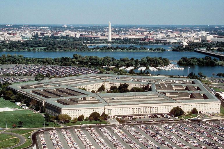 Le bâtiment du Pentagone aux États-Unis