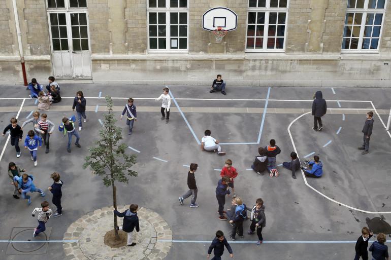 Une école primaire (Illustration)