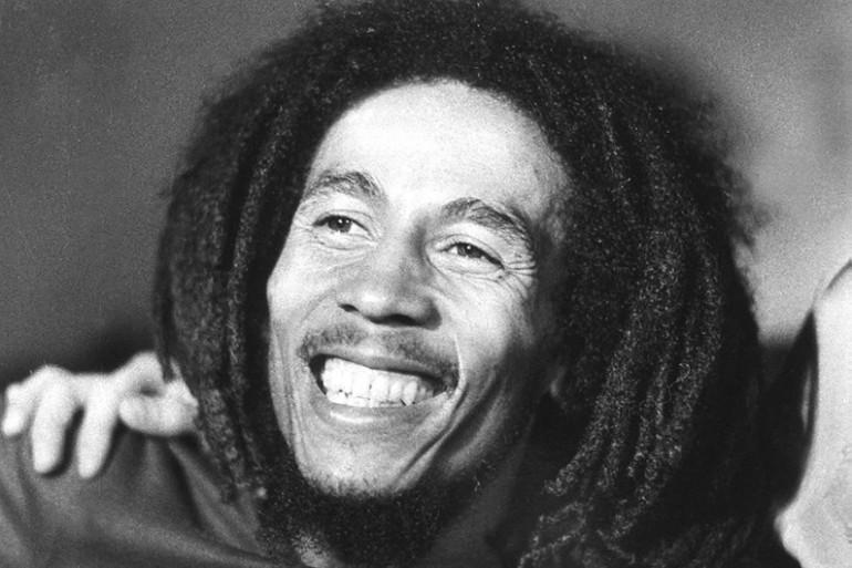 La légende du reggae Bob Marley