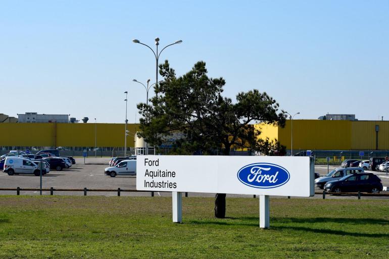 Une vue de l'entreprise Ford Aquitaine Industries, à Blanquefort (Gironde)
