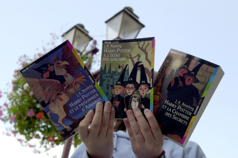 """Les trois premiers livres """"Harry Potter"""""""