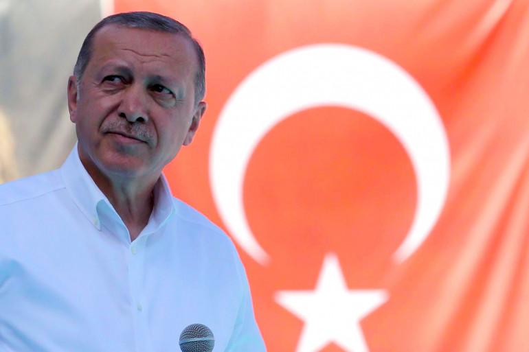 Le président Erdogan